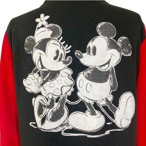 Disney Mickey & Minnie Mouse red black jacket